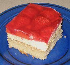 Erdbeer - Kuchen mit Vanillecreme (Rezept mit Bild) | Chefkoch.de
