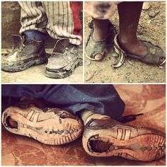 """They say you should walk a mile in someone else's shoes before you judge them. ""- Compassion International"