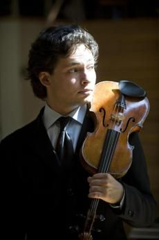 Portrait of a violinist as a young man: Yevgeny Kutik, classical violinist