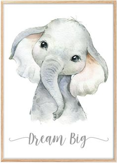 Cute Elephant Drawing, Baby Animal Drawings, Cute Drawings, Elephant Drawings, Nursery Drawings, Nursery Prints, Elephant Sketch, Cute Baby Elephant, Jungle Animals