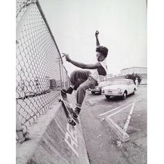 Tommy Guerrero. FS Smith in SF '86. Photo by Grant Brittain.