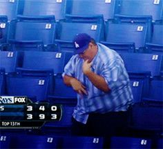 And this sports fan hanging out by himself. | 13 People Who Tried Way Too Hard To Be Cool