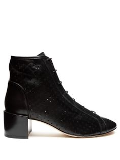 Mable perforated leather ankle boots | Acne Studios | MATCHESFASHION.COM US