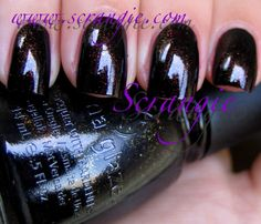 Scrangie: China Glaze Metro Collection Fall 2011 Midtown Magic
