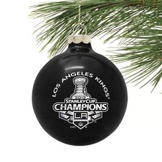 LA Kings Stanley Cup Champions Ornament