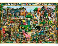 Puzzle Ravensburger Los Tesoros de un Tiempo de 1000 Piezas