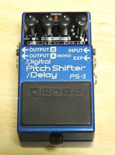 BOSS PS-3 Digital Pitch Shifter/Delay Guitar Effects PEDAL