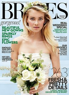 Brides: Elyse Taylor Is Our December/January Cover Girl