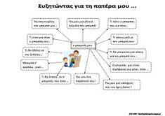 γράψουμε Fathers Day, Dads, Education, School, Blog, Greek, Father's Day, Fathers, Blogging