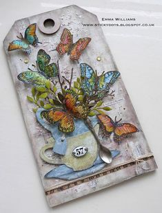 """Hello friends and welcome to the brand new Simon Says Stamp Monday Challenge! This week our theme is called """"Things With Wings"""" and whether you choose to use butterflies, birds, dragonflies, angel win"""
