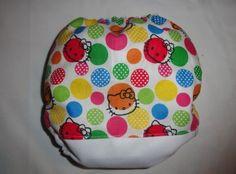 Cute hello kitty pocket diaper from cutesytushies on etsy.