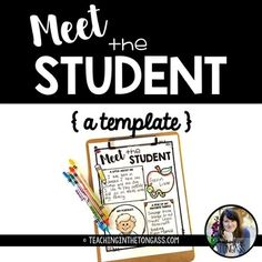 I made this fun little meet the student sign to go along with my Meet the Teacher template! Just have each student fill it out and you can make a fun class book! The student page is in black and white to save on printing costs! THIS IS NOT EDITABLE.  I hope your students enjoy it!Click here for more Back to School resources!