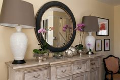 Robin Campbell Designs by Stef Atkinson Photography. Distressed Sideboard. Decorative painting.