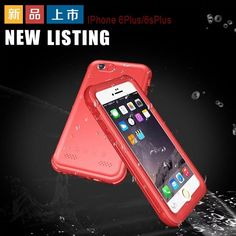 New Fashion Waterproof Case For iphone 5 6 6S  Plus SE Diving Underwater Watertight Shockproof Swimming Life Phone bags Shell