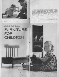 Paul McCobb Furniture for Children article