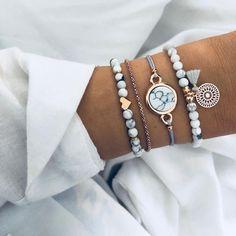 30 Styles Mix Turtle Heart Pearl Wave LOVE Crystal Marble Charm Bracelets for Women Boho Tassel Bracelet Jewelry Wholesale - USAWholaSalesComodities Tassel Bracelet, Stone Bracelet, Bracelet Set, Bangle Bracelets, Silver Bracelets, Stackable Bracelets, Link Bracelets, Layered Bracelets, Colorful Bracelets