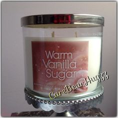 Bath and Body Works Warm Vanilla Sugar candle