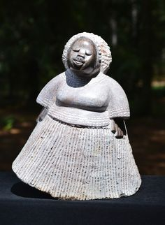 """""""On Her Way Mamma"""" Shona Sculpture. By Andrew K. Norton. Shona artists are well known for their stone sculptures and are typically called """"Shona"""" sculptures. 30% of net profits go back to three Zimbabwean charities."""
