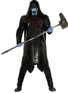 """""""He's a fucking psycho!"""" Laughs Pace. """"He's a real monster. I've had the best time playing this character. I'm glad its all on film and I never thought I could be so nuts in it!""""--Lee Pace on playing Ronan the Accuser."""