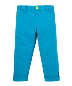 Little Bird by Jools Blue Twill Trousers - trousers, shorts & joggers - Mothercare