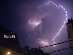 lightning storm in thamel kathmandu