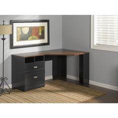 Bush Cabot Corner Computer Desk   Desks At Hayneedle | Office | Pinterest |  Desks, Corner And Room