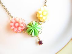 Bella  Necklace by 4TasteofShabbyChic on Etsy, $32.00