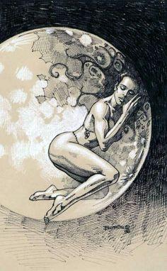 Illustration by Boris Vallejo 1998   Fantasy art