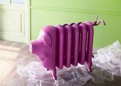 Dipingere e decorare termosifoni