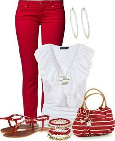 Love .... great Valentine day outfit.