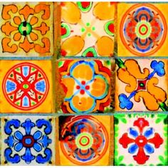 I had a table with two of these tiles that was my grandparents! Mexican style