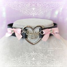 Necklaces – Page 9 Black Choker Necklace, Heart Choker, Kitten Play Collar, Girls Choker, Collars Submissive, Kittens Playing, Daddys Girl, Metal Necklaces, Chain Pendants