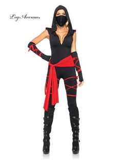 Sexy Deadly Ninja Costume | Wholesale Adult Deadly Ninja Sexy Costume Halloween Costumes for Women's Deadly Ninja Sexy Costume