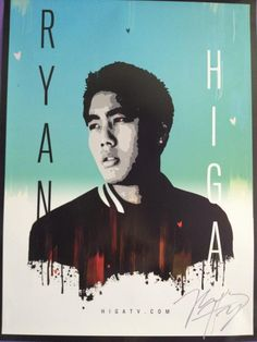 Ryan Higa autographed poster. Want one!