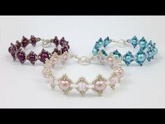 TheHeartBeading: Live-Love-Laugh Bracelet Tutorial - YouTube