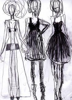 fashion drawings   Tumblr
