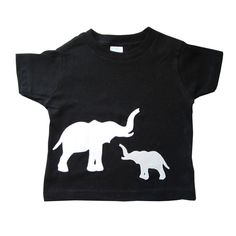 Mother & Baby - Elephants Toddler T-Shirt by micielomicielo on Etsy