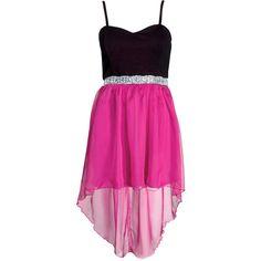 Paprika Embellished Trim Dress ($57) ❤ liked on Polyvore
