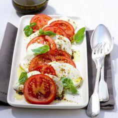 Tomaat & mozzarella…een Italiaanse klassieker voor maar 4 ProPoints per portie! #WWrecepten #SnelKlaar
