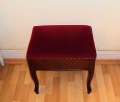 Sehr schöner Hocker mit Deckel Klapphocker mit Stauraum aus Holz, Klavierhocker | eBay