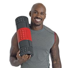 Check out the new BodyForm Foam Roller by Brookstone and Dolvett Quince!