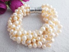 Z-1597 Beautiful Gril's Fashion Pearls Bracelet Jewelry wholesale!for women 2014 $86.14