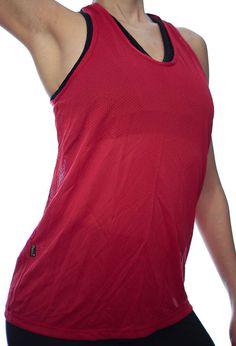 d74c5d73e49ec Women Tank Top Workout Sport Top Shirt Red Drifit Yoga Gym Training Running  Dance Beach Cover