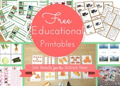 Confessions of a Montessori Mom blog: Get Ready for the New School Year with Free Printables by Seemi Abdullah of Trillium Montessori