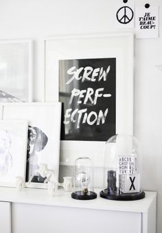 The Minimalist Blog x Screw Perfection print x AMM Blog