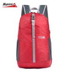 Makino Travel Backpack Nylon Sport Foldable Backpacks Waterproof Ultralight Climbing Bags Men Women Camping Hiking bag Rucksack