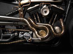 "Harley Davidson Sportster 883 ""Opera"" by South Garage | Man of Many"