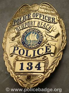 Badge Newport Police Department by dynamicentry122, via Flickr