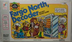MILTON BRADLEY: 1978 Fargo North, Decoder Game (The Electric Company) #Vintage #Games