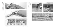 Prym Glidelås til strikketøy – 40 cm – Rød | Strikkenett.no - din garnbutikk på nett